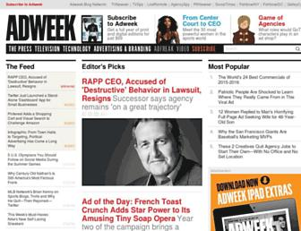 adweek.com screenshot