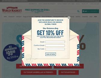 Thumbshot of Worldmarket.com