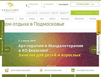 Thumbshot of Bekasovo.ru