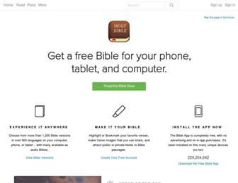 Thumbshot of Bible.com