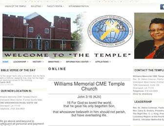 wmsmemorialcme.net screenshot