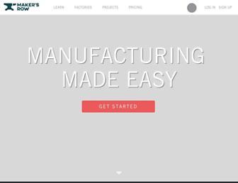Thumbshot of Makersrow.com