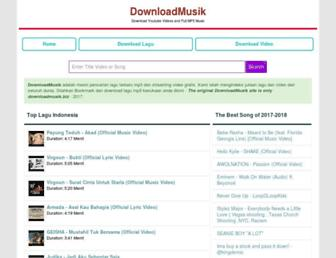 downloadmusik.biz screenshot