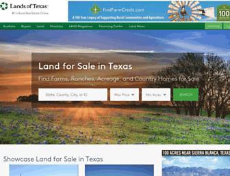 Thumbshot of Landsoftexas.com