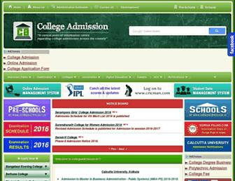 Thumbshot of Collegeadmission.in