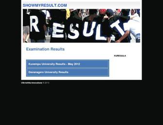 Thumbshot of Showmyresult.com