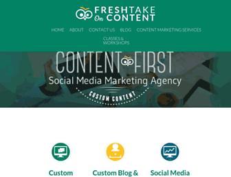 Thumbshot of Freshtakeoncontent.com