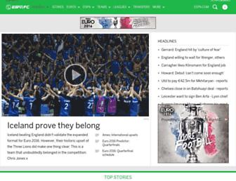 Thumbshot of Espnfc.com