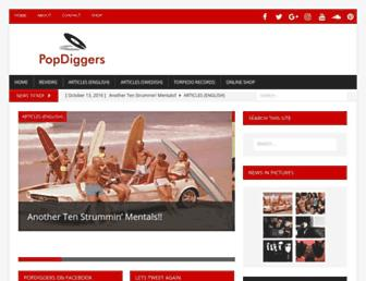 popdiggers.com screenshot
