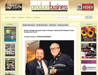 producebusiness.com screenshot