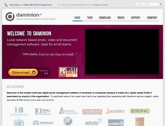 Thumbshot of Daminion.net