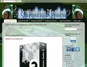 productores-musicales.blogspot.com screenshot