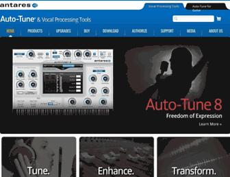 autotune.com screenshot