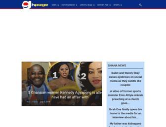 ghpage.com screenshot