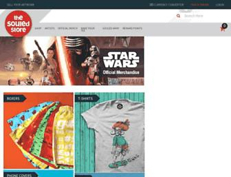 thesouledstore.com screenshot