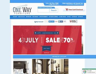 Thumbshot of Onewayfurniture.com