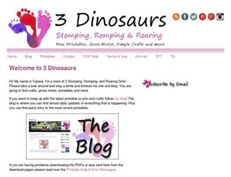 Thumbshot of 3dinosaurs.com