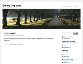 genesdigitales.com screenshot