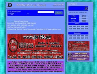 jbrmalam.pw screenshot