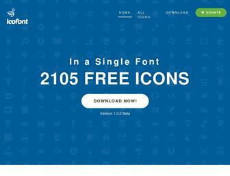 icofont.com screenshot