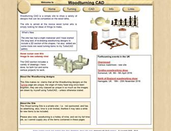 woodturningcad.co.uk screenshot