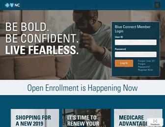 bluecrossnc.com screenshot