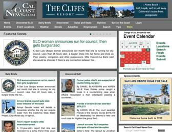 Thumbshot of Calcoastnews.com