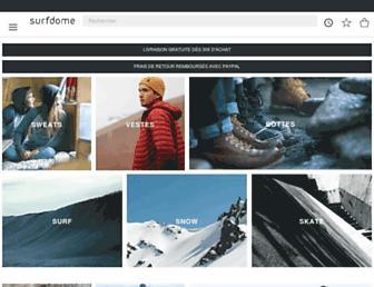 surfdome.fr screenshot
