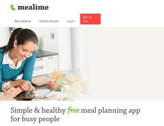 mealime.com screenshot