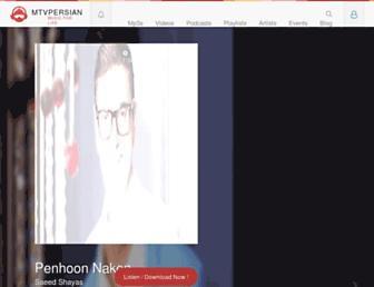 mtvpersian.net screenshot