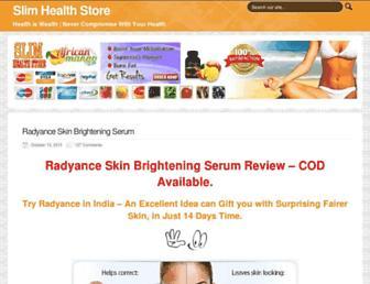 slimhealthstore.com screenshot