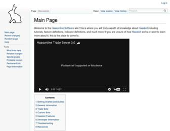 wiki.haasonline.com screenshot