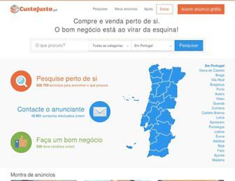 Thumbshot of Custojusto.pt