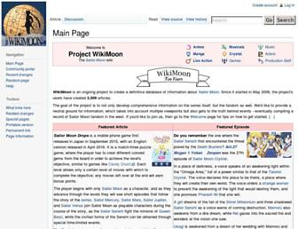 wikimoon.org screenshot