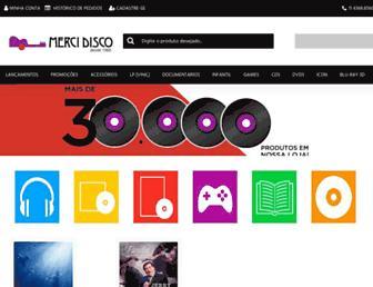 mercidisco.com.br screenshot