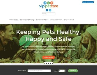 vippetcare.com screenshot