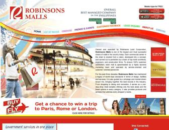 robinsonsmalls.com screenshot