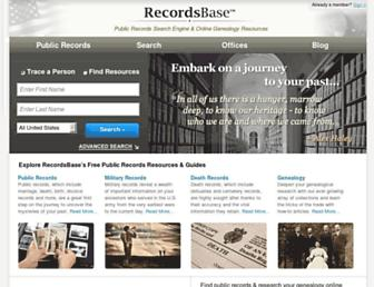 Thumbshot of Recordsbase.com