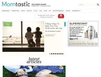 Thumbshot of Momtastic.com