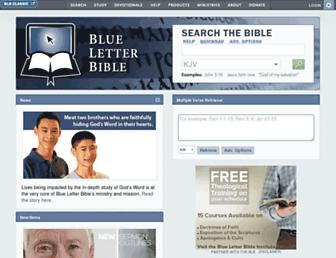 Thumbshot of Blueletterbible.org