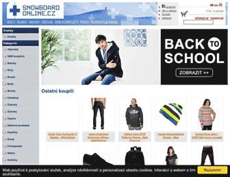 Thumbshot of Snowboard-online.cz