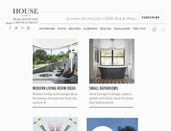 Thumbshot of Houseandgarden.co.uk