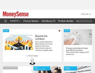 moneysense.ca screenshot