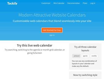tockify.com screenshot