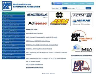 nmea.org screenshot