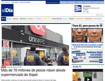 diarioeldia.cl screenshot