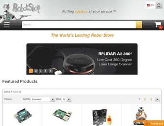 Thumbshot of Robotshop.com