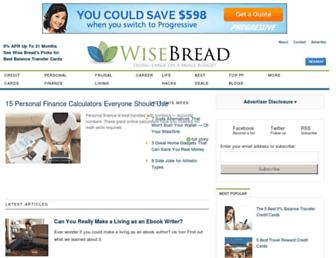 Thumbshot of Wisebread.com