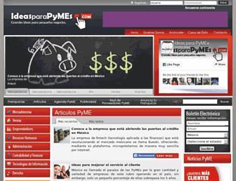 ideasparapymes.com screenshot