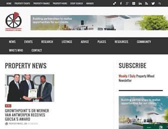 propertywheel.co.za screenshot